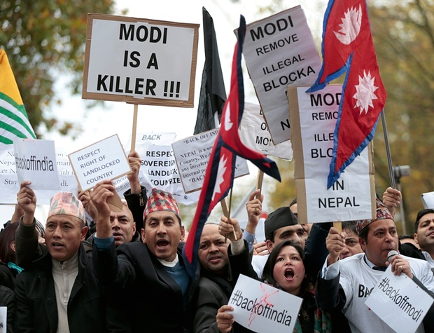 indian modi protest